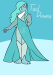 Teal Diamond by NuttyandProud03