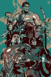 The Avengers by Aseo