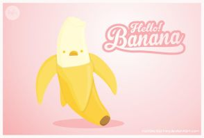 Hello! Banana by natalia-factory
