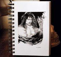 Gabriel Belmont on Sketchbook by junkisakuraba