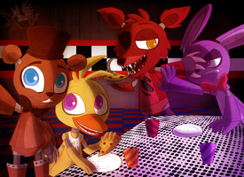 Five Nigths At Freddys by Marie-Mike