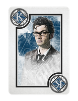 10th Doctor Who King of Diamonds by TMC-INK