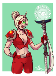 [wow] Blood Elf Monk by SirMeo