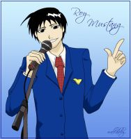 Roy Mustang by wallabby