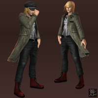 DOA5 - Eliot (casual coat outfit) by Sticklove
