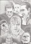 Universal Studios Monsters by PaulSpatola