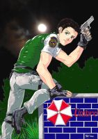 Chris Redfield In Colour by affynity