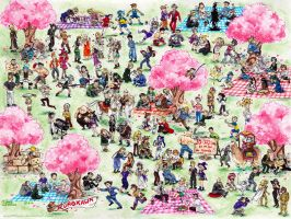 Giant Kurokawa's cross-over by Pinceau-Arc-en-Ciel