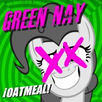 Green Nay Oatmeal cover (Updated) by StratMLP