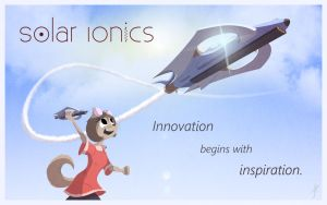 Solar Ionics Poster Ad by cashmeresky