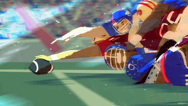 Go Niners! by PascalCampion