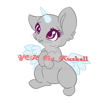 Hey There Cutey Pony - YCH (CLOSED) by Kushell