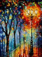 The Fog Of Dreams by Leonid Afremov by Leonidafremov