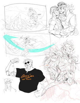 Sketchdump4 by guild-snail