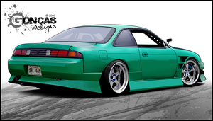 NISSAN SILVIA S14 by carguy88