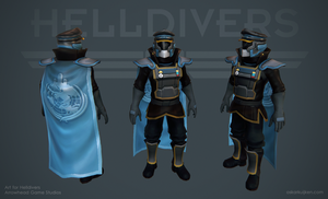 Helldivers - Ceremonial Armor by OskarKuijken