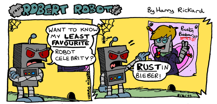 Robert Robot Strip 3 by WizzKid97