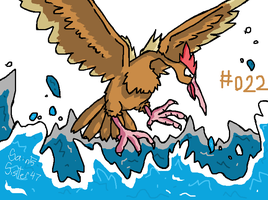#022 Fearow by SaintsSister47