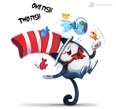 Day 833. One Fish...Two Fish by Cryptid-Creations