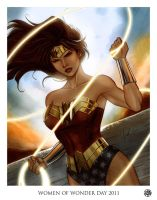 Women of Wonder Day 2011 Color by Protokitty