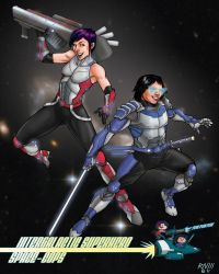 SPACE COPS by robthesentinel