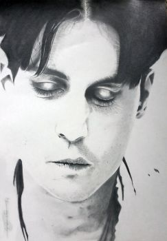 could be johnny depp by GirlofPaper