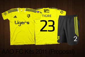 AAO Football Jersey 2011 by uncannyNuncertainty