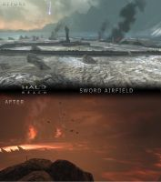 Before N' After: Airfield by SWHalo2