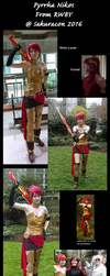 Pyrrha cosplay photodump 2 by Ravus4001