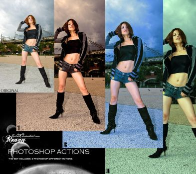 Photoshop Actions Pack 8 by ReehBR
