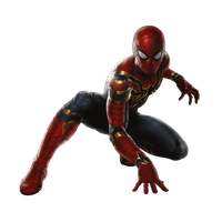 Iron Spider (no iron legs) - Transparent! by Camo-Flauge
