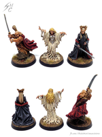Lord of the Rings miniatures by skycat