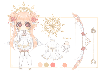 Valentines day adoptable - Cupid [CLOSED] by Miyunn