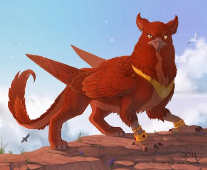 The Red King by dot-DOLL