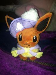 ~.:My Eevee Halloween Keychain!.:~ by SonicShadowBlaze365