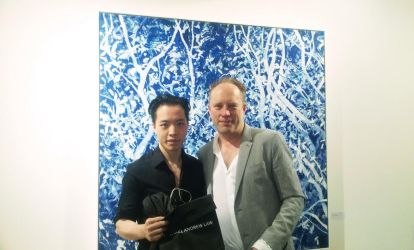 MICHAEL ANDREW LAW Meets PAINTER ANDREW TAYLOR by michaelandrewlaw