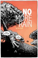 No More Rain Sample Book Cover by JoeRuff