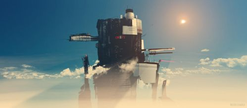 ZHE539 Tower by invisiblechamber