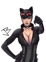 Gotham City Sirens - Catwoman by THE-GREAT-ULTRON