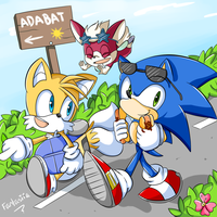 Lets go to Adabat by Ipun