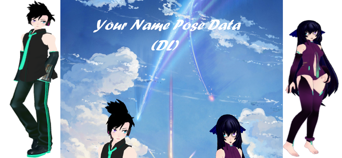 Your Name Pose Data (DL) by epicbubble7