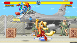 Street Fighter II by nrxia