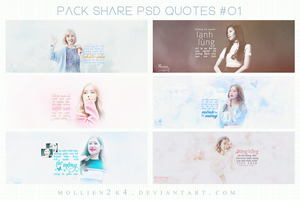 [PSD] SHARE PSD QUOTES #01 by MollieN2k4