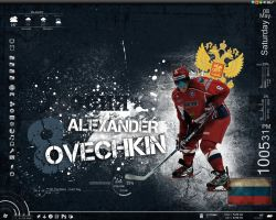 ice hockey-ovechkin rainmeter by reiterman