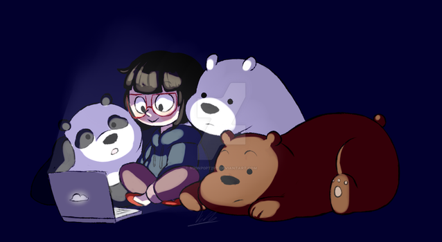 We Bare Bears by N30nP0pt2rt