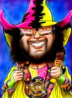 Macho Man Randy Savage by rkw0021