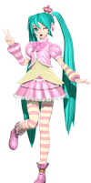 MMD Dreamy Theater Extend: Princess by MisakiGalhardo