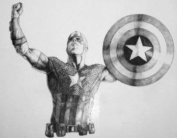 Ultimate's Captain America by Meador