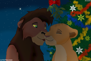 Christmas with you - contest entry by M-WingedLioness