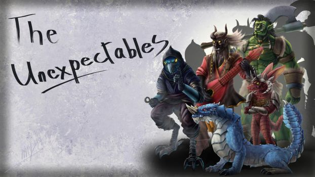 The Unexpectables Wallpaper by Yggdrassal